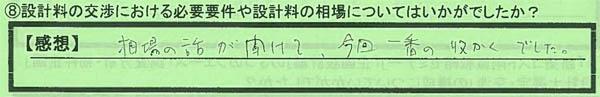08設計料交渉_大阪府吹田市IMさん