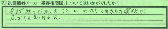 【業界相関図】名古屋市志水紀美江さん
