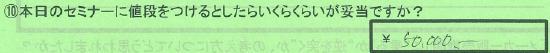 【値段】東京都台東区高木和恵さん