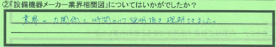 【業界相関図】横浜市河原進さん